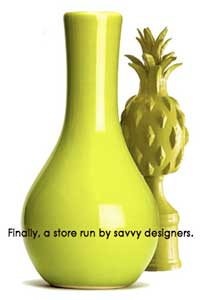 green_vase with pineapple
